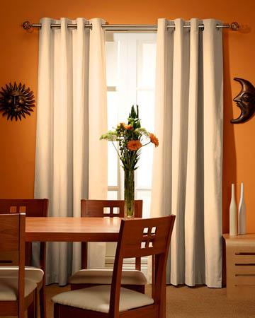 Prestigious Polo Vanilla Curtains