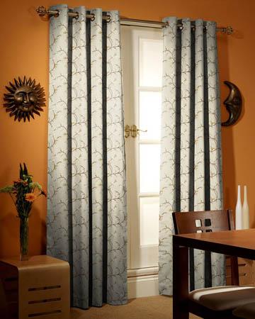 Prestigious Primrose Latte Curtains