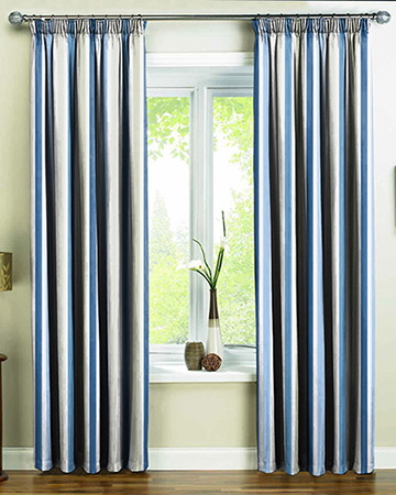 Prestigious Villa Mosa Indigo Curtains