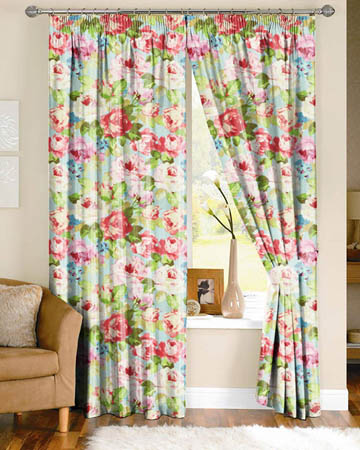 Prestigious Willoughby Azure Curtains