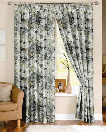 Prestigious Willoughby Onyx Curtains