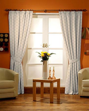 Romeo Cream Curtains