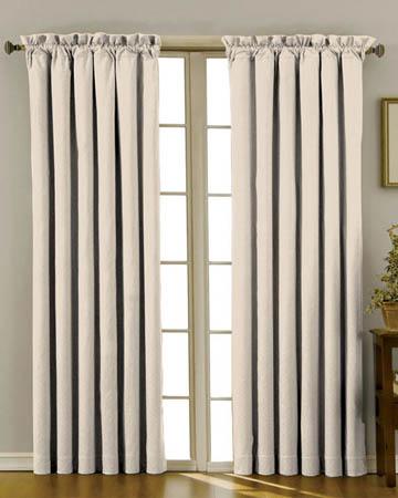 Soft Uni Perle Curtains
