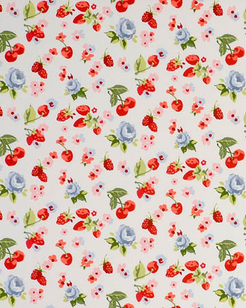Studio G Summer Fruits Chambray Curtains