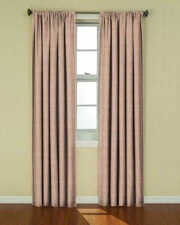 Tissu Luna Taupe Curtains