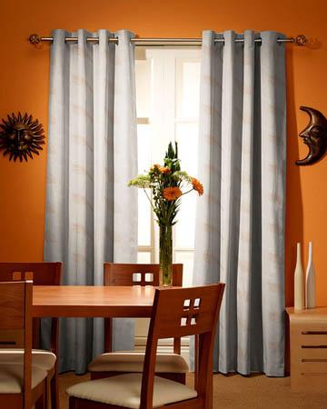 Tissu Origins Plume Beige Curtains