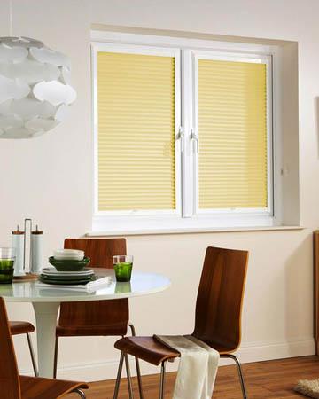 Window Wizz Honeycomb Cream Pleated Blinds