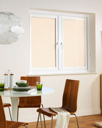Window Wizz Honeycomb White Pleated Blinds
