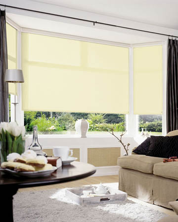Plain Cream Roller Blinds