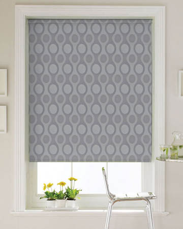 Isabelle Platinum Roller Blinds