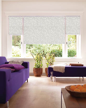 Chatsworth White Roller Blinds