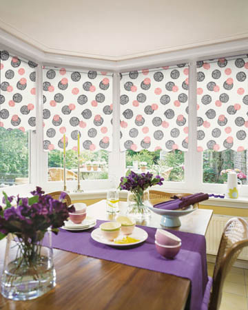 Cordoba Red Roller Blinds