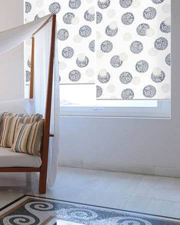 Cordoba White Roller Blinds