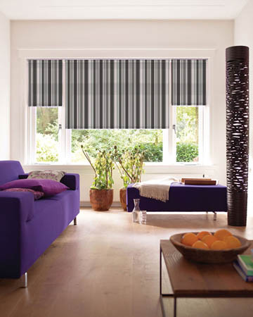 Stripe Roller Blinds Striped Fabric Uk