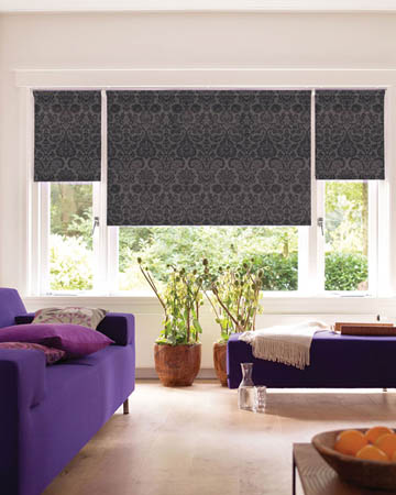 Decora Renoir Charcoal Roller Blinds