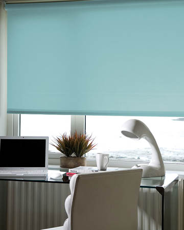 Eclipse Palette Sea Blue Roller Blinds