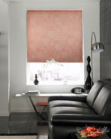 Inca Amber Roller Blinds