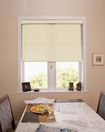 Louvolite Banbury White Roller Blinds