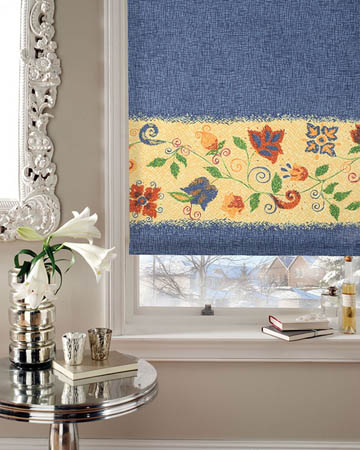 Ravel Celeste Roller Blinds