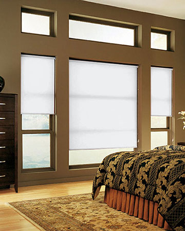 Simply White Roller Blinds