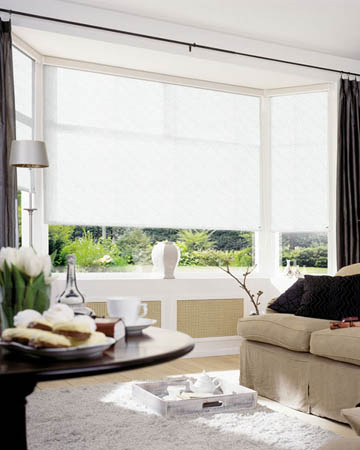 Sorisa White Roller Blinds