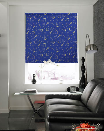 Wizard Midnight Roller Blinds