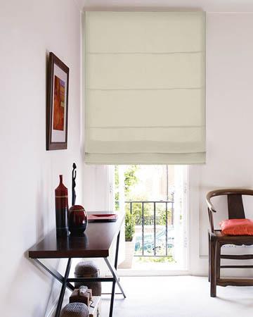 blackout roman blinds blinds uk. Black Bedroom Furniture Sets. Home Design Ideas