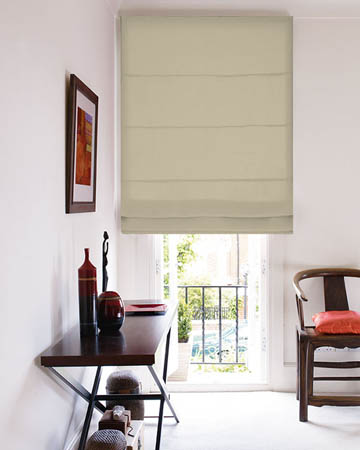Edgar Cream Roman Blinds