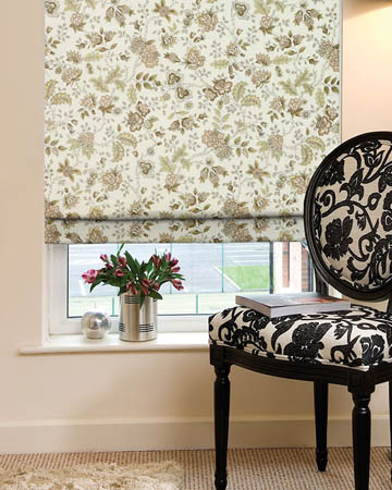 Nathalie Natural Roman Blinds