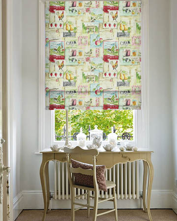 Prestigious Country Life Chintz Roman Blinds