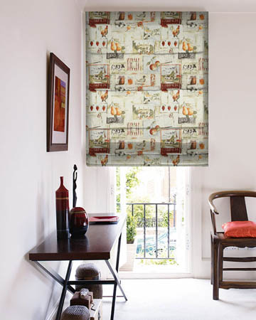 Prestigious Country Life Cinnamon Roman Blinds