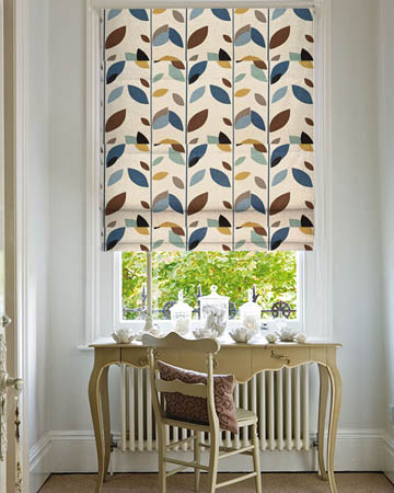 Prestigious Evergreen Duck Egg Roman Blinds