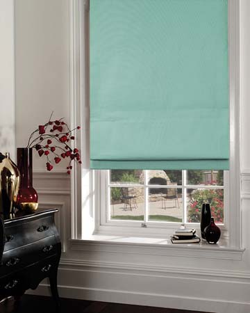 Prestigious Gem Aqua Roman Blinds