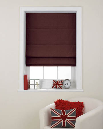 Prestigious Gem Grape Roman Blinds