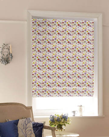 Prestigious Maple Amethyst Roman Blinds