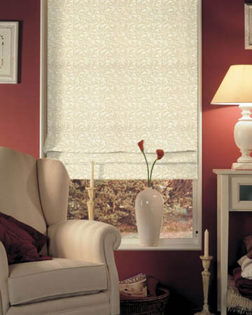 Prestigious Oregon Champagne Roman Blinds