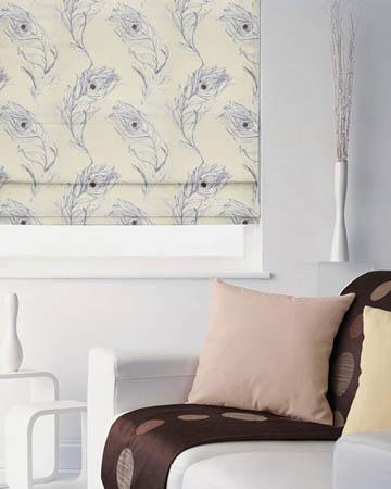 Prestigious Pietra Lavender Roman Blinds