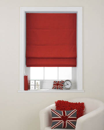 Prestigious Polo Ruby Roman Blinds