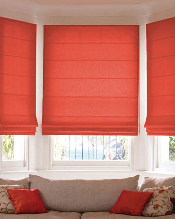 Prestigious Sail Red Roman Blinds