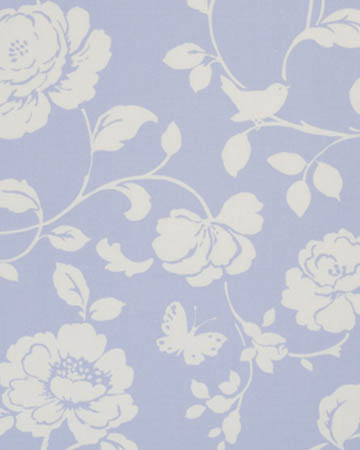 Studio G Meadow Powder Blue Roman Blinds