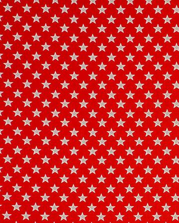 Studio G Shooting Stars Red Roman Blinds