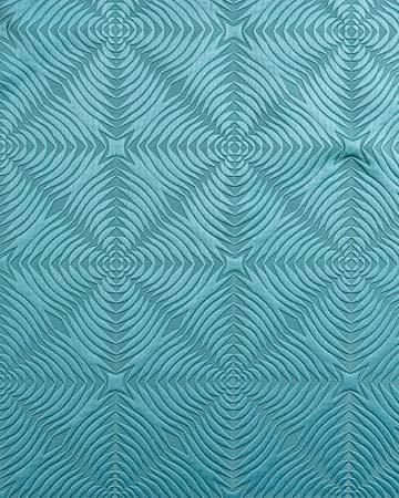 Tissu Miami Losange Bleu Roman Blinds