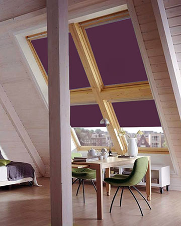Berry Pink Blackout Velux