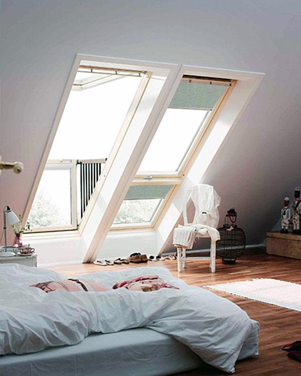 Original light grey blackout blinds for velux roof windows for Velux ggl 808 dimensions