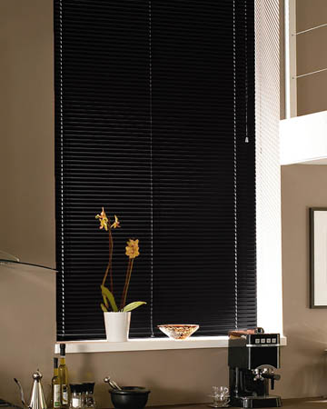 Charcoal Aluminium Venetian Blinds