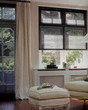 Granite Black Aluminium Venetian Blinds