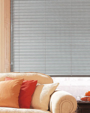Matt White Aluminium Venetian Blinds