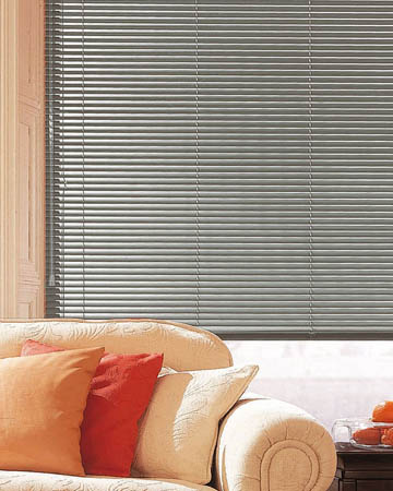 Smoke Grey Aluminium Venetian Blinds