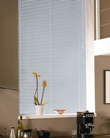Fasttrack White Aluminium Venetian Blinds