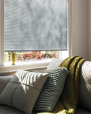 FastTrack White Perforated Aluminium Venetian Blinds